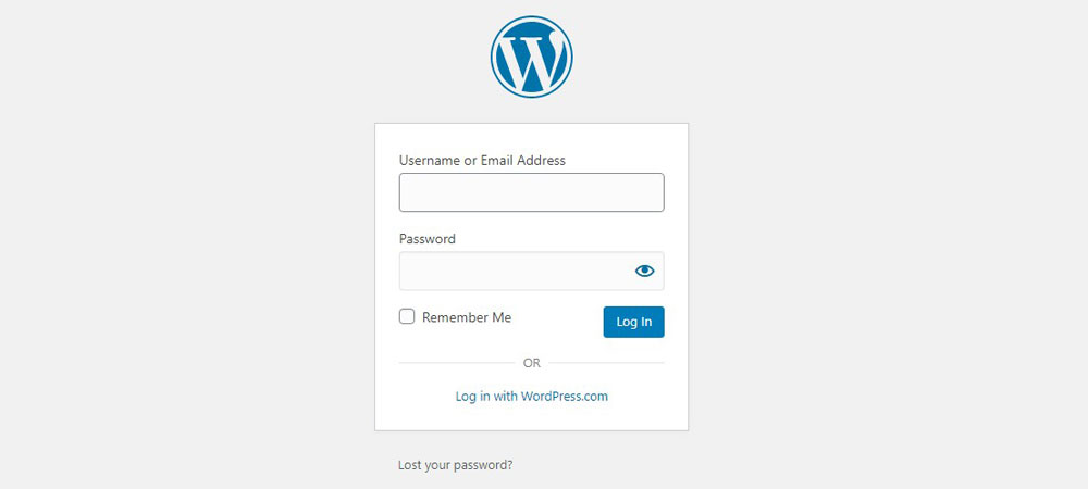 can't type in password wordpress