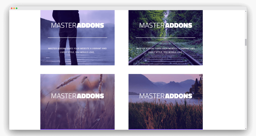 Image Hover Effects Element